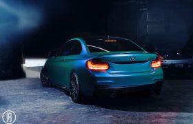 BMW M235i Wrap | Caribbean Shimmer