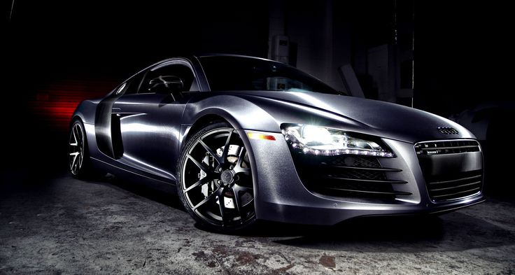 AUDI R8 Brushed Steel