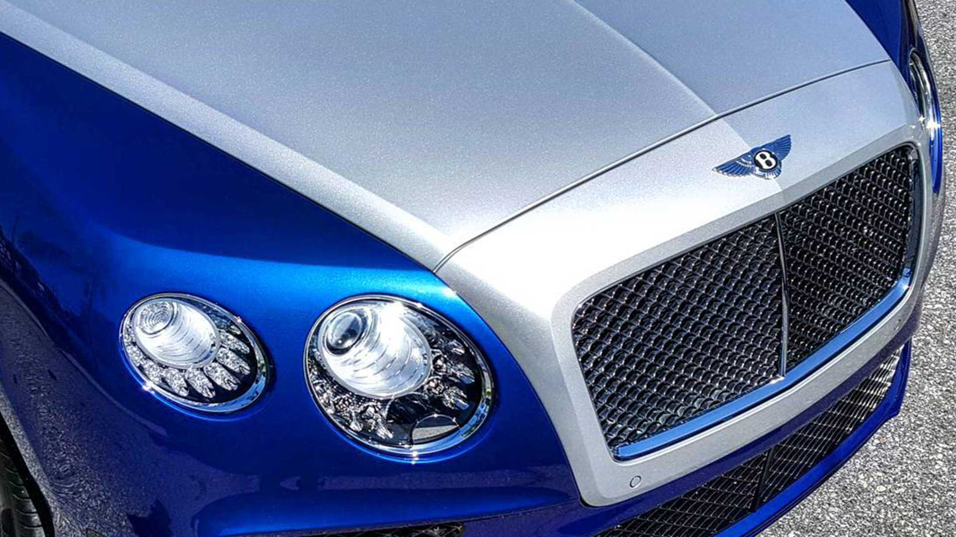 Bentley Continental GT Wrap