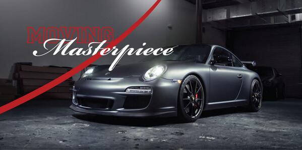 "Porsche GT3 ""3M Grey Metallic Wrap"""