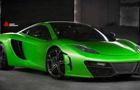 Vehicle Wraps Orlando | McLaren MP412C Wrap