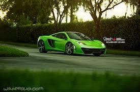 McLaren MP412C Verde Ithaca Wrap
