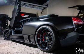 Lamborghini Murcielago Satin Black Wrap