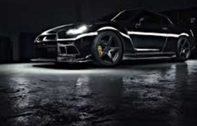Nissan GTR Chrome Wrap