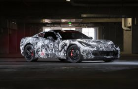 Chevrolet Corvette Stingray Wrap