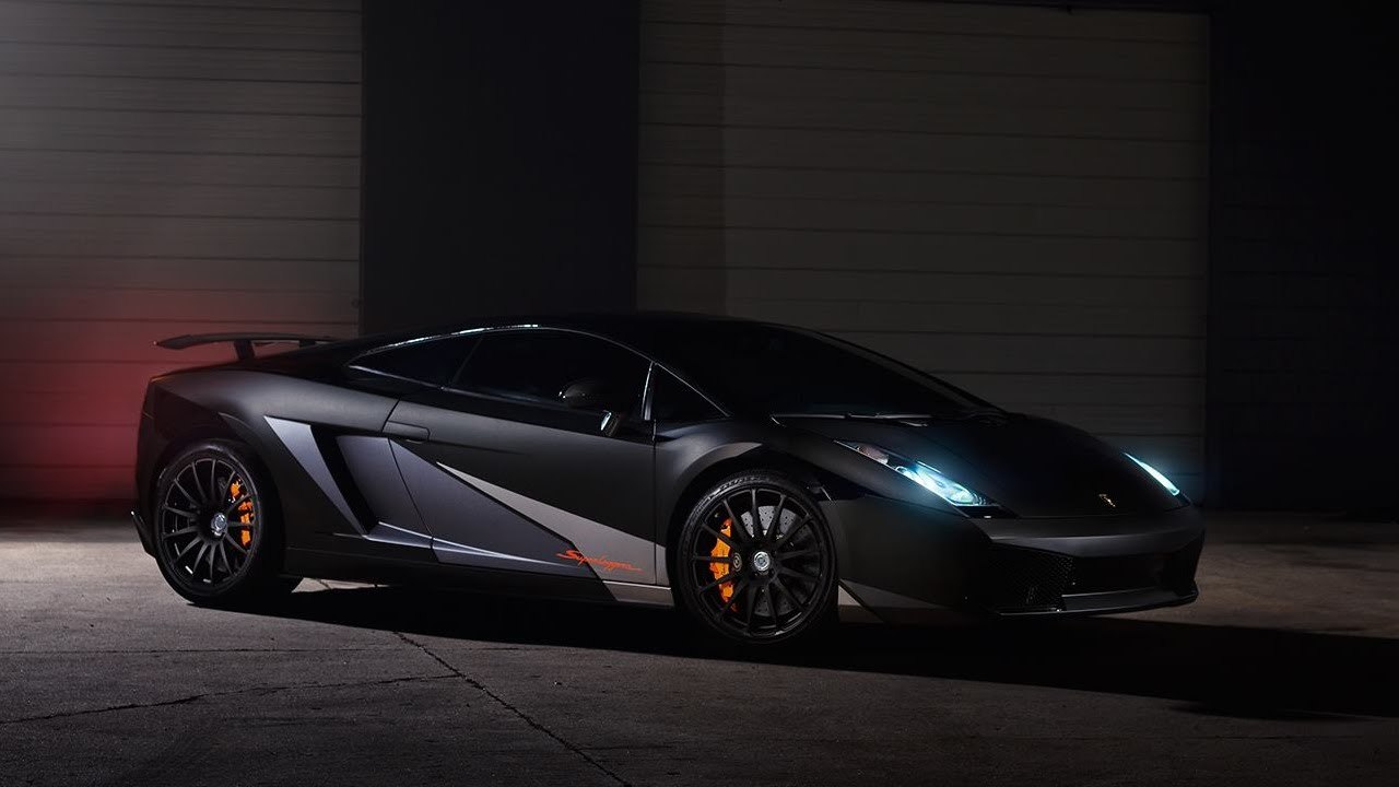 Lamborghini Gallardo Superleggera: Goes Stealth