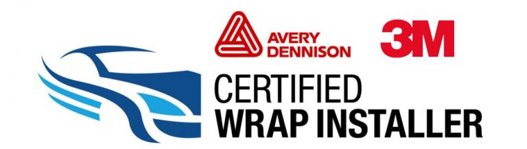 Certified Vehicle Wrap Installer